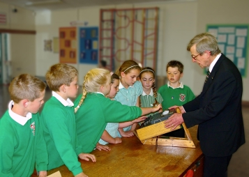 Enigma Demo at Aughton Primary School