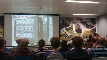 Speaking at Skyscanner HQ, Edinburgh UK, Jan 2017