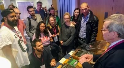 Enigma demo at TuringFest, Edinburgh, Aug 2017