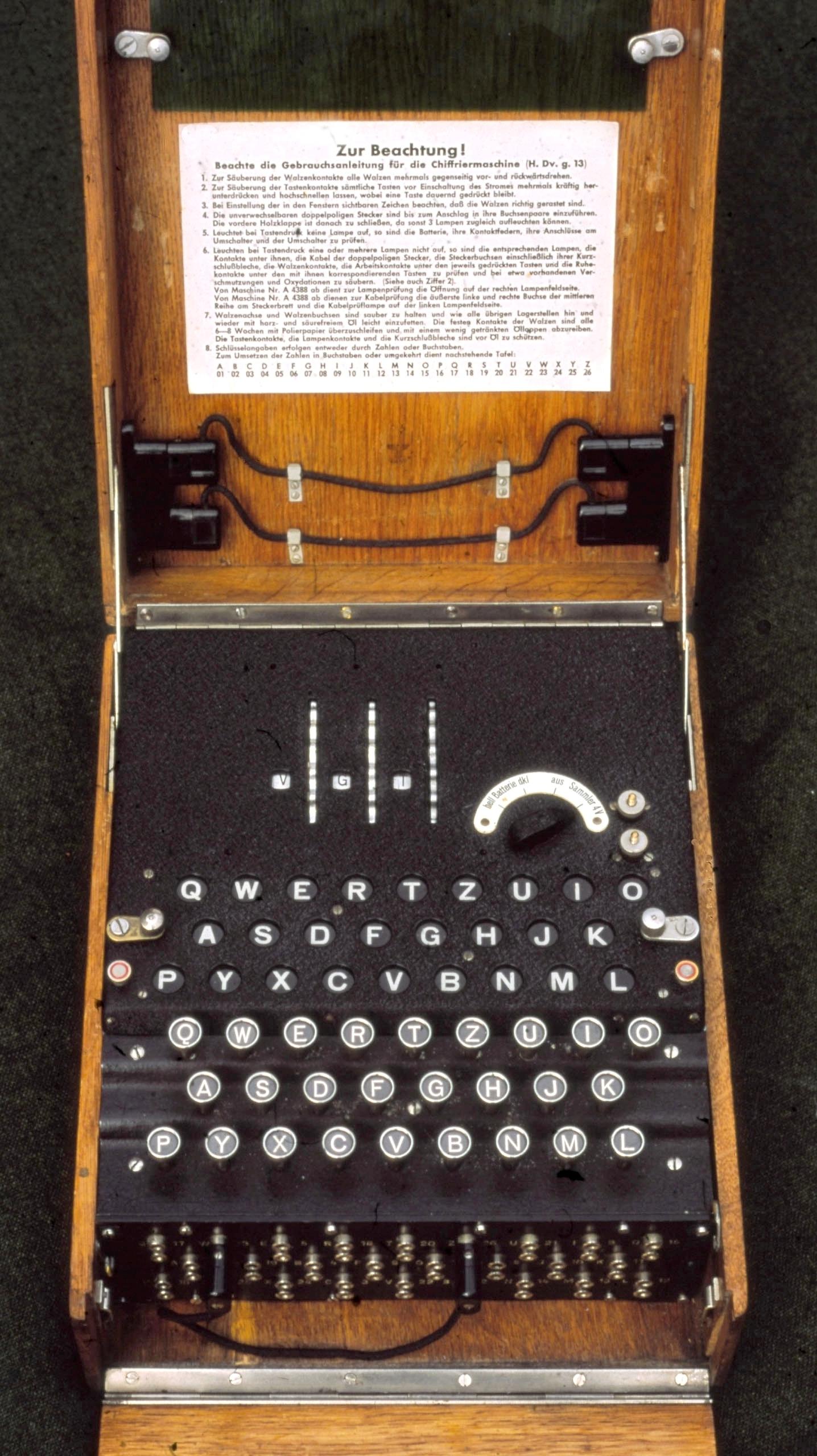 3-rotor-Enigma-Machine-DrEnigma