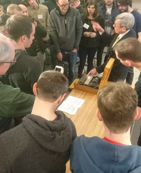 Hands-on Enigma demo, Lyft HQ, San Francisco, Feb 2018