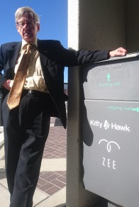 Speaking at Kitty Hawk Zee.aero, Mountain View USA, Feb 2018