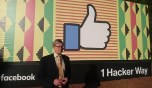 Invited to speak at Facebook HQ, Silicon Valley, Feb 2018