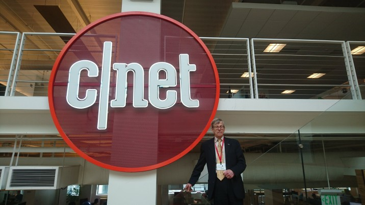 Speaking at CNET HQ, San Fancisco, Feb 2018. CNET wrote an article about my visit here: https://www.cnet.com/news/enigma-up-close-with-a-nazi-cypher-machine-bombe-bletchley-park/