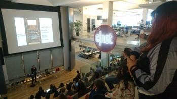 Speaking at CNET HQ, San Francisco, Feb 2018