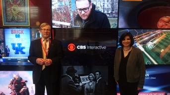 CNET HQ, with Editor-in-chief Connie Guglielmo