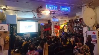 Speaking at Noisebridge Hackerspace, San Francisco, Feb 2018