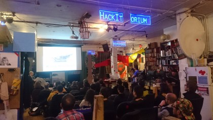 Speaking at Noisebridge Hackerspace, San Francisco, Feb 2018