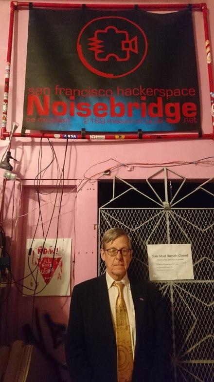 Speaking at Noisebridge Hackerspace, Feb 2018