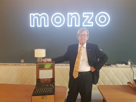 Speaking at Monzo Bank HQ , London, May 2018