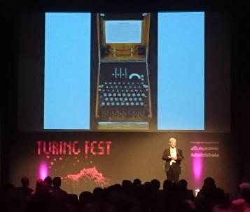 Speaking at Turing Fest 2018, Edinburgh