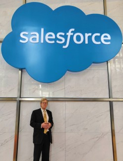 Speaking at Salesforce Tower - tallest building in San Francisco, Oct 2018