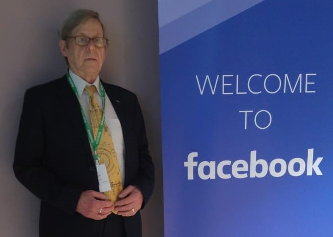 Dr Enigma at Facebook, Dublin, Ireland. May 2019